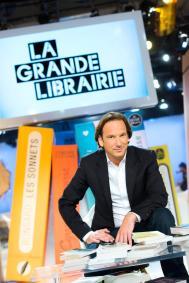 La Grande Librairie presente par François Busnel sur France 5. Paris - FRANCE, le 04/09/14